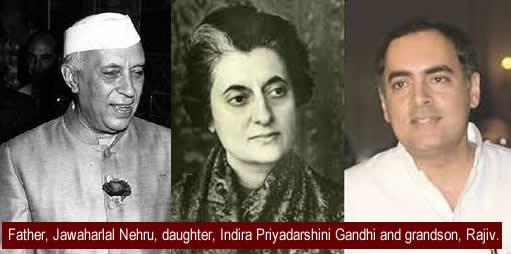 ghandi family